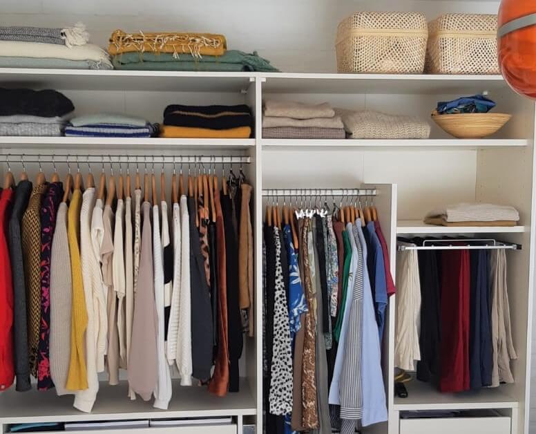 kledingkast opruimen
